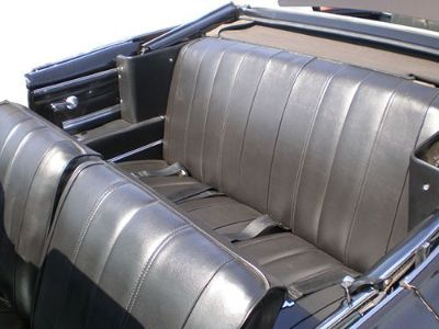 Buy 1966 CHEVELLE CONVERTIBLE STANDARD INTERIOR KIT BLACK motorcycle in Placentia, California, United States, for US $789.95