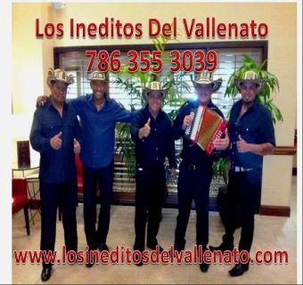 GRUPO LOS INEDITOS DEL VALLENATO / 786 355 3039