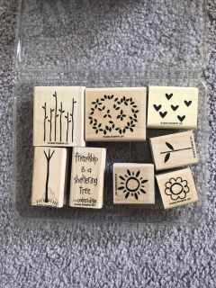 Rubber Stampin Up stamps