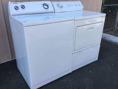 Whirlpool Washer and Dryer - Delivery Available