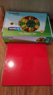 Shapemags (60 pieces) with Playmag tile