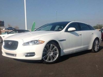 2013 Jaguar XJ XJL Supercharged (Polaris White)