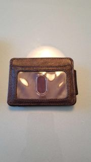 New in box leather money clip