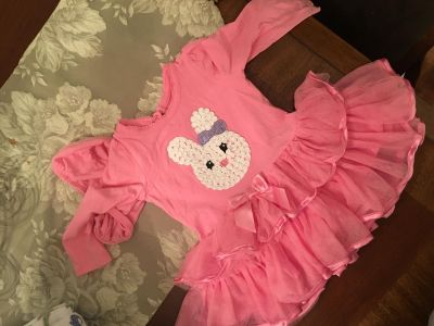 Girls bunny outfit