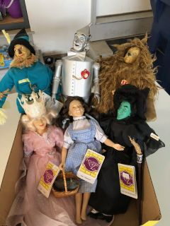 Wizard of Oz collectible dolls