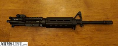 """For Sale: Factory Bravo Company BCM 14.5"""" Socom Upper Pinned and welded."""