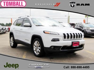 2015 Jeep Cherokee Limited (Bright White Clearcoat)