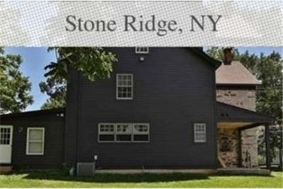 Classic center hall Colonial stone house offered for rent. Washer/Dryer Hookups!