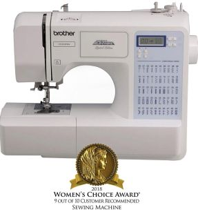 LIKE NEW! Brother Project Runway Electric Sewing Machine-50 Built in Stitches-Automatic Threading