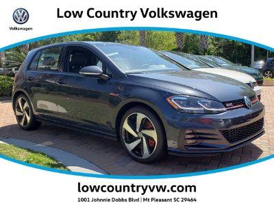 2019 Volkswagen Golf Gti 2.0T SE DSG (BLUE)