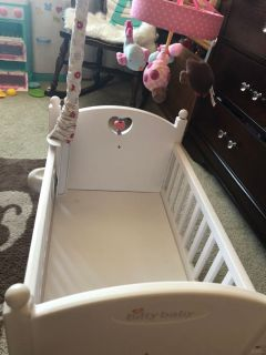 American girl bitty baby crib