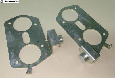 Weber IDF HPMX dual carb linkage base plates