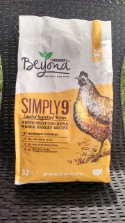 New: Purina Beyond Simply 9 White Meat Chicken and Whole Barley Dry Dog Food -> $5.