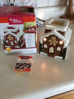 Gingerbread House Scented Wax Warmer