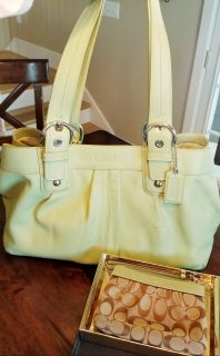 Large Coach Purse and smaller bag