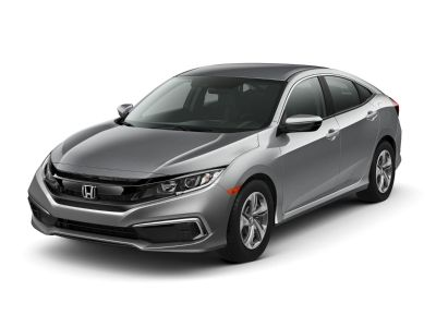 2019 Honda Civic LX (Molten Lava Pearl)