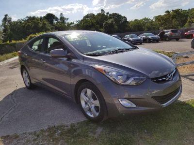 2012 Hyundai Elantra GLS (Gray)