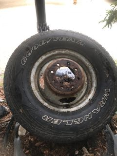 F350 Dually Tire