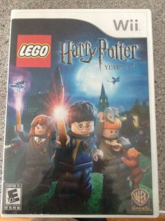 Harry Potter Year 1-4 Wii