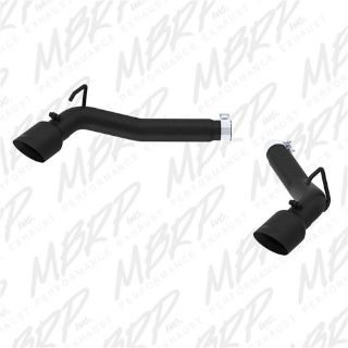 Find MBRP Exhaust S7021BLK Black Series Dual Axle Back Muffler Delete Pipe motorcycle in Burleson, TX, United States, for US $386.57