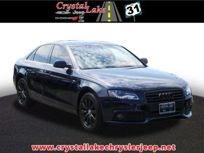 2010 Audi A4 2.0T quattro Premium Plus (Black)