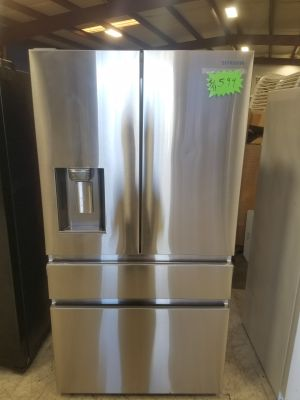 Refrigerator Samsung French doors santinless steel