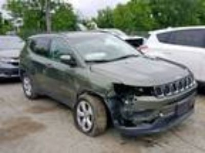 Salvage 2017 JEEP COMPASS LATITUDE for Sale