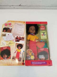 #4 heart for hearts girls Rahel from ethiopia doll