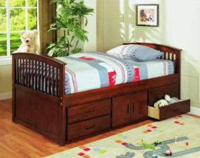 $349, SOLID WOOD Twin bed with storage drawers- VERY NICE GREAT PRICE