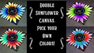 Folsom Studio 8/31~ Double Sunflower