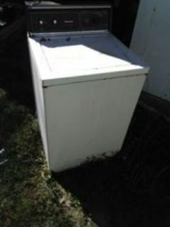 Kenmore washing machine does not spin pick up only
