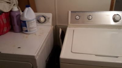 Washer and dryer both work fine