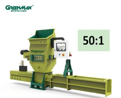 Professional Styrofoam compactor of GREENMAX APOLO series