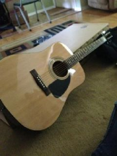 $100 OBO Fender Acoustic Guitar