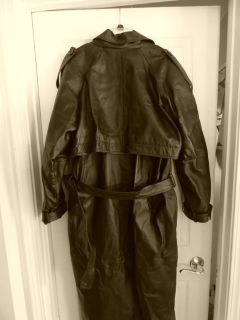 LOWERED PRICE - Womans Long leather jacket