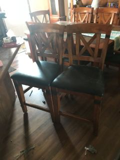 Kitchen Set Table, Chairs and Bar stools