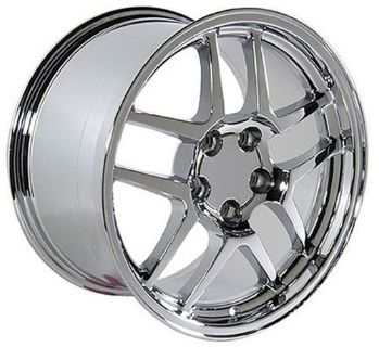 Buy One 17x9.5 Chrome Z06 Wheel Fits Corvette B1W motorcycle in Sarasota, Florida, United States, for US $176.25