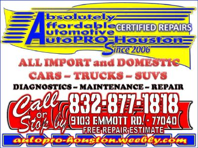 Mobile Mechanic Repairs for ALL Import and Domestic Vehicles