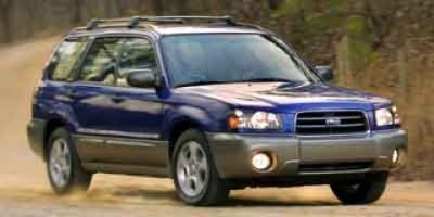 2003 Subaru Forester XS (Red)