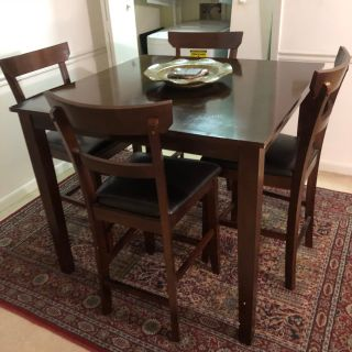 Quality high wood table