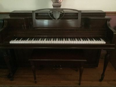 UPRIGHT PIANO by Janssen
