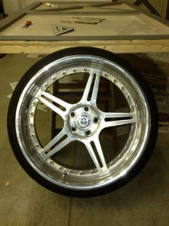 "Purchase 20"" HRE 3 Piece Lightweight Mercedes Wheels motorcycle in Neosho, Wisconsin, US, for US $1,500.00"