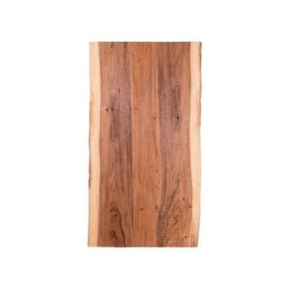 Butcher Block Countertop in Oiled Acacia with Live Edge - New!