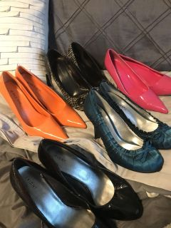 5 pairs of heels for $5