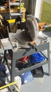rigid miter saw with stand