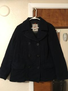Ambercrombie lined wool coat