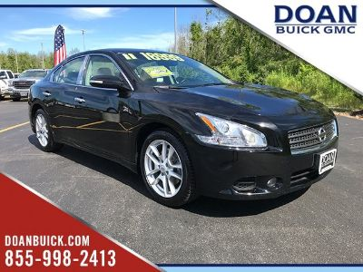 2011 Nissan Maxima 3.5 S (Super Black)
