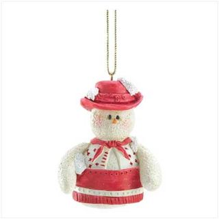 Snowberry Cuties Cowgirl Ornament - New - Collectible