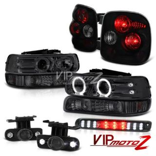 Purchase 99-02 Silverado 2500HD StepSide Projector Headlights Parking Brake Tail Lamp Fog motorcycle in Walnut, California, United States, for US $342.77
