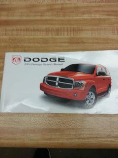 Find 2004 DODGE DURANGO OWNERS MANUAL motorcycle in Minneapolis, Minnesota, US, for US $15.00